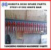 De Staaf van het Mes van Kubota DC60