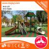 Equipo al aire libre del parque del patio al aire libre de la diapositiva del patio del jardín de la infancia