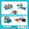 Design professionnel Fish Feed Milling Process Line avec Factory Price