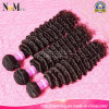 Premium Now Hair 4 Bundles Virgin Malásia Deep Wave / Tight Curly Human Hair Braid