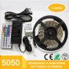 nécessaire flexible de bande de bande de 5m 5050SMD RVB DEL avec IP65 imperméable à l'eau
