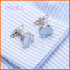 Men를 위한 VAGULA Fashion 2016년 Round Sea Shell Cufflinks