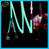 創造的な蛍光ジッパーによってワイヤーで縛られるイヤホーンのメガ低音のイヤホーン