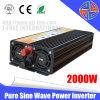 La alta calidad de inversor puro de la onda de seno 2000W Solar