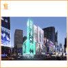 Schermo di visualizzazione cambiante del LED dell'architrave di colore P10 per fare pubblicità