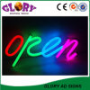 Neon Open Sign LED Animated Neon Business placas de placas abertas
