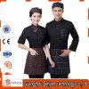Modèle uniforme de serveuse et de serveur de barre pour l'hôtel