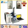 Mini machine de borne de laser de fibre de commande numérique par ordinateur pour le métal à vendre