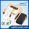 Contrôleur à télécommande F2 de lumière de vitesse de climatiseur