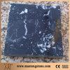 白い黒はNero Margiuaの石造りの人工的な大理石のタイルを張りめぐらす