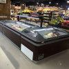 El Ce de China aprobó el congelador/el refrigerador profundos de la isla usados para el supermercado