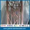 Diviseur de pièce se pliant d'écran d'acier inoxydable de fabrication de tôle de Chine