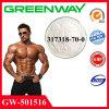 체중 감소를 위한 분말 Sarms 약제 화학 보충교재 Gw501516