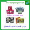 색깔에 의하여 인쇄되는 상자 화장품 또는 반지 상자 종이 선물 포장 상자