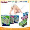 Produtos do cuidado do bebê de China que Pampering o fornecedor descartável confortável e seco dos tecidos do bebê