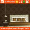 Papel pintado de la sala de estar de Guangzhou que graba con el material del vinilo del PVC