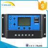 regolatore solare della carica di 12V 24V 20A con controllo di tempo chiaro doppio del USB Cm20k-20A