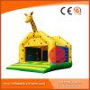 Neue aufblasbare reizende Giraffe-springender Prahler (T1-002)