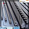 최신 복각 직류 전기를 통한 철강선 밧줄 7*19-32/5´ ´