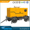 Производство электроэнергии трейлера портативного электрического генератора Genset тепловозное производя установленное