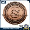 Moneta d'ottone del metallo dell'oggetto d'antiquariato di disegno del cliente, moneta di sfida