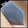 A seda luxuosa da forma elevada imprimiu a gravata de 7 dobras