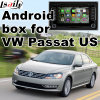 Relação video Android do sistema de navegação do GPS para Volkswagen Passat (E.U.)