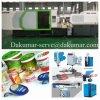 Máquina de alta velocidade da modelação por injeção de recipiente de alimento