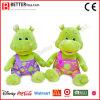 Hippopotame mol de jouet de peluche mignonne pour des gosses