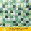 Mosaico di cristallo con verde di disegno della pittura