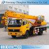 De volledige Vastgestelde Vrachtwagen van de Kraan van 16 Ton van Certificaten Mobiele met het Opheffen van Wapen voor Verkoop
