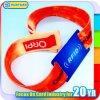 Bracelet tissé par tissu classique de l'IDENTIFICATION RF 1K de la balise active MIFARE de festival de musique