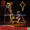 [لد] [110ف] ولادة مذود مشردة [2د] الحافز حبل ضوء لأنّ عيد ميلاد المسيح زخرفة