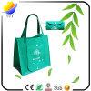 Saco de compra Foldable não tecido colorido da classe superior e costume relativo à promoção saco impresso do presente