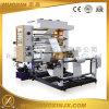 2 Farben-Shirt-Plastiktasche-flexographische Drucken-Maschine
