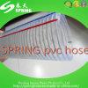 Boyau hydraulique renforcé en plastique transparent de pipe de débit industriel de l'eau de fil d'acier de PVC