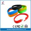 Disco istantaneo del USB del silicone del Wristband superiore del braccialetto (KW-0204)