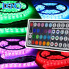 RGB Flexible LED Strip Light (점화하는 3528 5050)