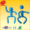 PVC Human Flash Memory; Cartoon Man USB Pen Drive