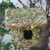 Birdhouse dell'erba verde/gabbia di uccello naturali Handmade