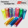 Axevinyl Factory Direct Sale Car Wrap Vinyl Premium Quality Chameleon Headlight Tint Film 0.3X10m