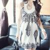 2015 Form-Böhmen-Retro preiswertes Sleeveless beiläufiges Kleid