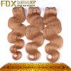 インドの毛の加工されていないバージンボディ波の人間の毛髪