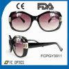 Mode et lunettes de soleil neuves de Cp d'injection pour Madame avec la lentille de PC