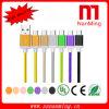 Cable de carga de Braide de la alta calidad de los datos micro de nylon del USB