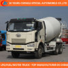 10 Wheels FAW Big Capacity Mobile Beton Mixer Truck