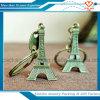De Levering voor doorverkoop van Keychains van de Toren van Eiffel van het Metaal van de Gift van de bevordering