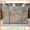 Золотистое Crama Polished Бразилия Granite Slabs для Kitchen Decoration