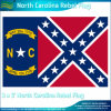Polyester 3X5' Nord-Carolina Rebel Flag (J-NF05F09061)