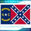 ポリエステル3X5'ノースカロライナRebel Flag (J-NF05F09061)